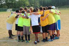 Nothing beats a #CampWaldenNY team huddle!