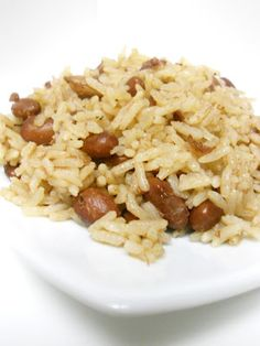 Red Beans and Rice Haitian style- for when I am missing my lovely Port-au-Prince