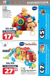Intertoys_NL - Intertoys Baby & Peuter Voordeel Boekje - Pagina 10-11 Vormenkever vtech en toet toet ambulance