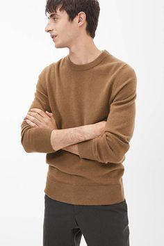 Neu Lacoste Sweatshirt Herren Beige Pullover Men Basic Sweater