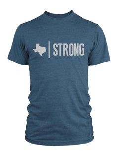 The original Texas Strong shirt from Compete Every Day represents the strongest pride in the Lone Star State. Product Details: Colors Available: Heathered Navy