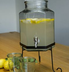 drinks dispensor by freshly forked   notonthehighstreet.com