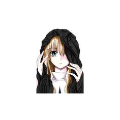Anime girls ❤ liked on Polyvore featuring anime, anime girls and characters