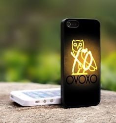 Drake Weeknd XO OVO ovoxo-For iPhone 5 Black Case Cover | TheCustomArt - Accessories on ArtFire
