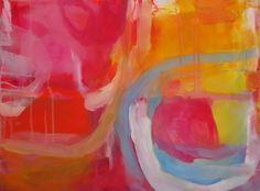 "Saatchi Online Artist Kathy Ready; Painting, ""The Start Up"" #art"