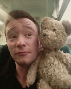 When little Zoe's mum found the rescuer on Facebook he sent her hilarious updates on teddy's night on the town before dropping him home.