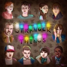 Stranger Things artwork by Bianca Nazari