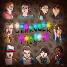 Stranger Things artwork by Bianca Nazari