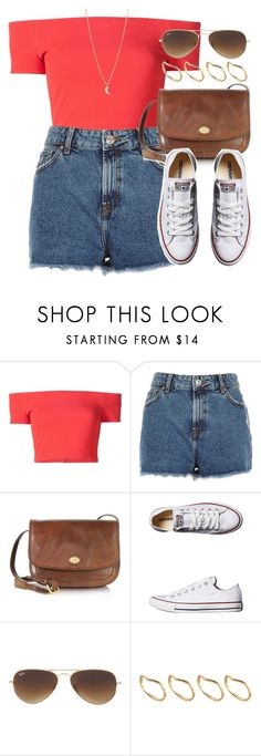 """Style #10240"" by vany-alvarado ❤ liked on Polyvore featuring Alice + Olivia, River Island, The Bridge, Converse, Ray-Ban, ASOS and Minor Obsessions"