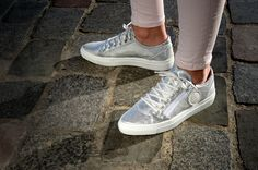 Vans Old Skool, Baskets, Sneakers, Shoes, Fashion, Metallic Leather, Tennis, Moda, Slippers