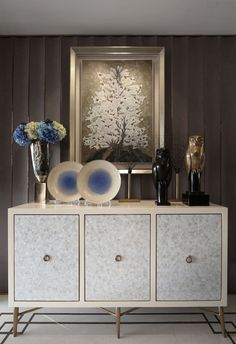 Sideboard ideas for your home decor | white and gold details sideboard |www.bocadolobo.com #modernsideboard #sideboardideas
