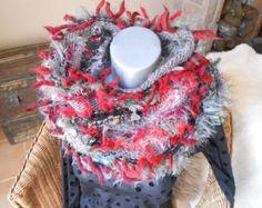 Col/Châle Apothéose en freeform crochet