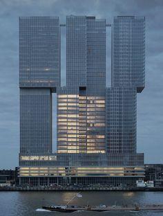 OMA projeta maior edifício da Holanda, com 160 mil m²