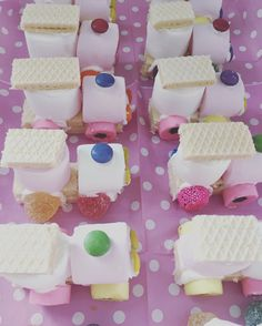 Party Sweets, Party Snacks, Mini Chef, Baker Baker, Food Art For Kids, Holiday Program, Trains Birthday Party, Ice Cake, Baking With Kids