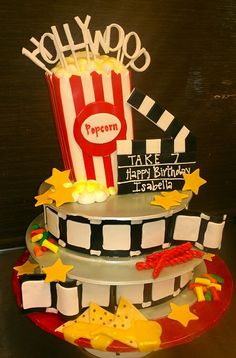 1000 Images About Movie Theme Cakes On Pinterest