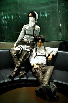 Eren & Levi | Shingeki no Kyojin #cosplay #anime