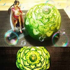 Unbelievable Food Carvings By Japanese Artist Gaku Food - Japanese artist turns food into oddly satisfying carved works of art