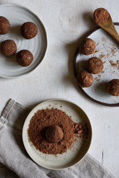 No Blend Coconut Rough Bliss Balls. Simple, delicious and free from gluten, grains, dairy, egg and refined sugar. Enjoy.