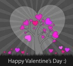 Pink hearts card vector Background