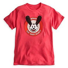 Disney Oswald The Lucky Rabbit Tee for Adults | Disney StoreOswald The Lucky Rabbit Tee for Adults - Enjoy hoppy memories of your trip to the Park with this Oswald tee featuring Walt's original animated star. Deliberately distressed artwork brings a vintage feel to this tee celebrating ''The Lucky Rabbit.''