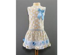 Ropa infantil - Vestido de niña modelo DEVA - hecho a mano por Nedi--Gonzalez en DaWanda