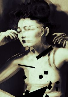 AVANTE GUARDE PHOTOGRAPHY -Sayaka Maruyama ( art photography / black and white photo )