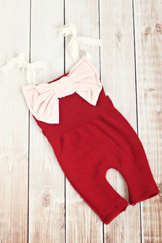 newborn romper // newborn photo prop // baby by bitOwhimsy on Etsy