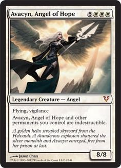 Magic the Gathering- Avacyn Restored Angel of Hope Legendary Creature- Angel Card Spoiler Magic The Gathering Karten, Prison, Jason Chan, Angel Flying, Mtg Altered Art, Legendary Creature, Angel Cards, Magic Cards, Wizards Of The Coast