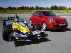 Renault F1 Team - Renault Clio