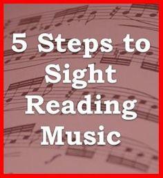Sight Reading Steps