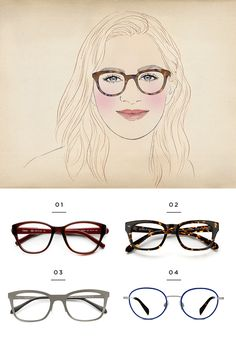51670454807 The Best Glasses for All Face Shapes