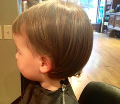 Great haircut for a little girl