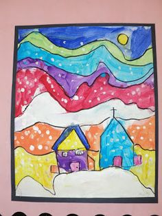 Grade ONEderful: My Grade 1 Classroom: Ted Harrison Paintings