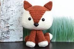 Fox Crochet Pattern. Felix The Fox Amigurumi por YarnSociety