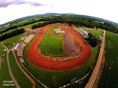 Beautiful view of Williams grove speedway.