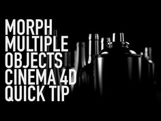 (22) MORPH MULTIPLE OBJECTS CINEMA 4D QUICK TIP - YouTube