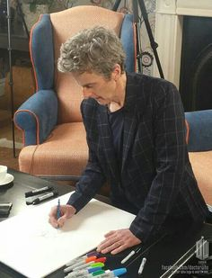 I went to art school in the days when it was what you did if you didn't want to be like everybody else. You wanted to be strange and different, and art school encouraged that. We hated the drama students - they were guys with pipes and cardigans. Peter Capaldi http://www.brainyquote.com