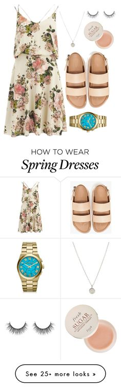 """""""Fresh'n"""" by cupcakepekr on Polyvore featuring VILA, Dogeared, Michael Kors and Fresh"""
