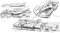 Formula Zero-Alternative Racing 2036 on Behance