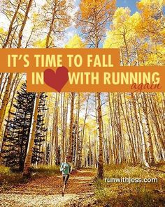 Fall running is the best!!!!
