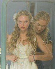 10. the perfect 'do: amanda seyfried's look from Mama Mia complete with silk organza flowers is such a soft, pretty look #wedding #modcloth
