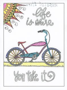 Inspirational Words Grown Up Colouring Pages