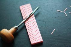 DIY Stamps | laura frances design blog