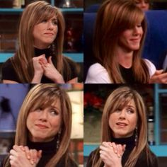 There is something about how Jennifer Aniston's bangs and layers fall in her face that make we want this cut sooo bad!