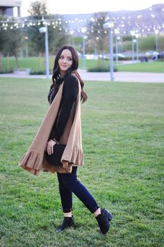 Styling a Long Vest and 25% Anthropology Coupon!!