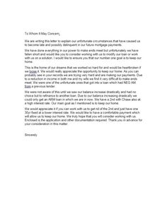 hardship letter template 15 letter templates letters lab sample resume simple