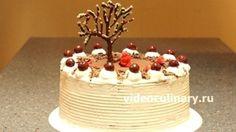 Торт Черный лес от видеокулинария.рф