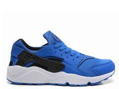 5f243e02094ef Nike Air Huarache Homme Royal Blue Blanc Noir Nike Huarache Homme 2014  Black Huarache, Nike