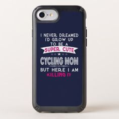 #SUPER CUTE A CYCLING MOM SPECK iPhone CASE - #cycling #gifts