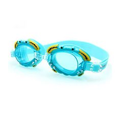 BoyGirl Lovely Cartoon Swim Goggle Waterproof Goggles Eyes Protector Blue *** Click image to review more details.Note:It is affiliate link to Amazon.